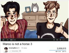 SNK/Danisnotonfire and AmazingPhil crossover. AmazingMarco and Jeanisnotahorse this is the best thing to ever happen ever