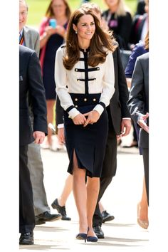 Hey sailor! Love her and her outfit :)
