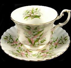 Royal Albert China Series - Springtime Series - Lily of the Valley