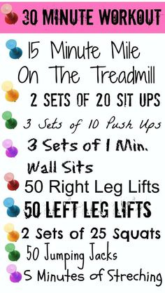 30 Minute Workout #health #fit #diet