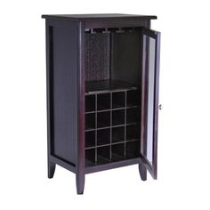 Bridgeport 16-Bottle Wine Cabinet