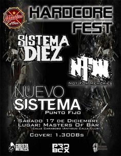 HardCore Fest http://crestametalica.com/events/hardcore-fest/ vía @crestametalica