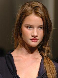 Celeb Hair Evolution: Rosie Huntington-Whiteley