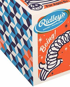 Beautiful diamond patterns on the side of this box Retro Illustration, Graphic Design Illustration, Vintage Packaging, Packaging Design, Candy Packaging, Cereal Packaging, Vacuum Packaging, Vintage Advertisements, Vintage Ads