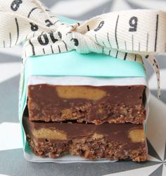 Peanut Butter Chocolate Tiffin