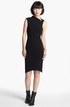HELMUT Helmut Lang 'Gala' Knit Dress | Nordstrom since were shooting waist up, this might look like an interesting top