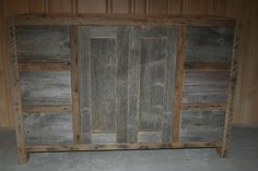 Barn Wood Weathered Gray Vanity vienna woodworks