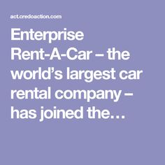 enterprise rent car corporate number