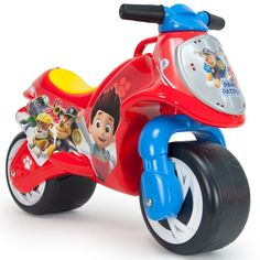 Ride-on Moto Paw Patrol Wheels wide Asa's transport Injusa juegete Paw Patrol Gifts, Los Paw Patrol, Paw Patrol Toys, Toy Cars For Kids, Toys For Girls, All Toys, Toys R Us, Paw Patrol Bedroom, Paw Patrol Costume