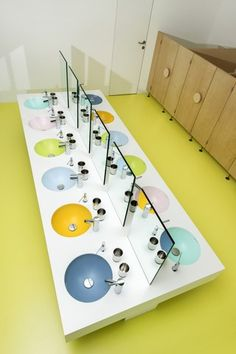 Work Office Design, Dental Office Design, Healthcare Design, Office Interior Design, Design Offices, Modern Offices, Modern Interior, School Building Design, Booth Design
