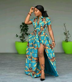 we have found the best 34 traditional African fashion for Ankara styles that attract a beauty. African fashion is one of the foremost bewildering sights to grace the corners of our planet. African Maxi Dresses, African Fashion Ankara, Ankara Gowns, Latest African Fashion Dresses, African Dresses For Women, Ankara Dress, African Print Fashion, Africa Fashion, African Attire