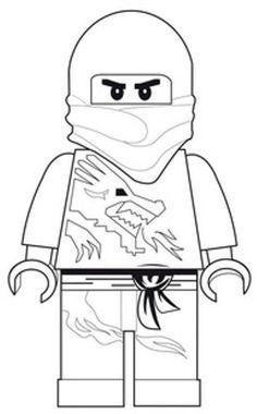 Lego Ninja Pose