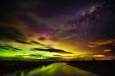 The Southern Lights in New Zealand from #treyratcliff at www.StuckInCustom... - all images Creative Commons Noncommercial.