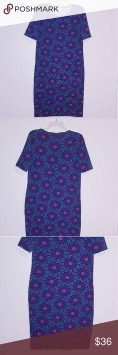 beb1ebea4018e LuLaRoe Julia Dress LuLaRoe Julia Dress Size L Made in USA New without tags