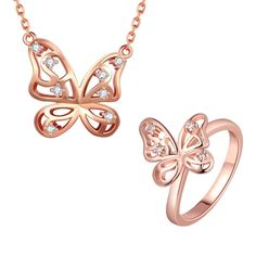 S436-A Fashion Nickel and lead free mixed styles 18k gold plating jewelry set