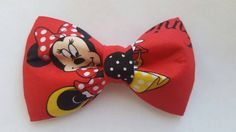 #bowties #minniemouse Hey, I found this really awesome Etsy listing at https://www.etsy.com/listing/250598338/minnie-mouse-inspired-hair-bow-boys-bow