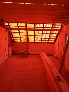 Masterbedroom without rooftiles