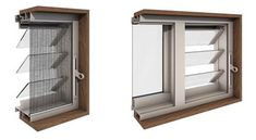 insect screens for louvre windows Insektenschutzgitter für Lamellenfenster Tiny House Stairs, Windows And Doors, Stairs Architecture, Window Design, Louvre Windows, Insect Screen Window, Louver Windows, Door Gate Design, Window Styles