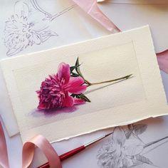 It'll be watercolor birthday card for my very special friend  подарочный именинный конвертик решила сделать и нарисовать самостоятельно, ну а что, с детства ведь знаем: лучший подарок - сделанный своими руками!
