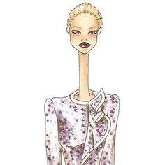 Alexander McQueen Alexander Mcqueen, Illustrations, Polyvore, Fashion, Moda, Fashion Styles, Illustration, Fashion Illustrations, Fashion Models