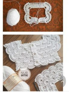 Best 11 Crochet Vest Pattern Knit Crochet Crochet Patterns Crochet Baby Booties Baby Girl Crochet Crochet For Kids Baby Knitting Hand Embroidery Baby DressImage gallery – Page 377528381262495945 – Artofit – SkillOfKing. Crochet Yoke, Crochet Vest Pattern, Shrug Pattern, Baby Knitting Patterns, Baby Patterns, Crochet Blouse, Crochet Patterns, Crochet Ideas, Afghan Patterns