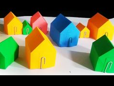 how to make a paper house - YouTube