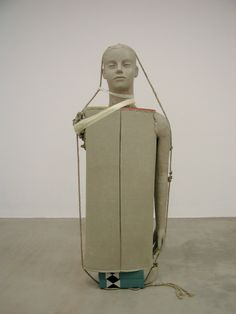 Mark Manders - Figure with Fake Dictionaries