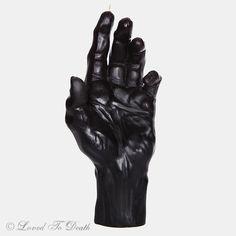 DL & Co Vena Amoris Hand Candle Black