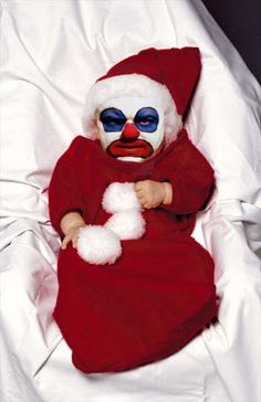 Sooo I have to say... this trumps both ou creepy Santas!!!