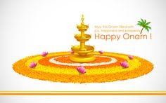May the Onam Fill with Joy, Happiness and Prosperity. Happy Onam! #Onam #HappyOnam #festival