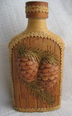 Birchbark Bottle - Kerry Kubilius © 2007, licensed to About.com