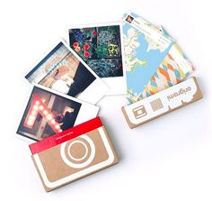 Retroprints turn your Instagram shots into Polaroid style prints. Amazing craft and DIY possibilities with these: party invites, hostess gifts, flash cards...