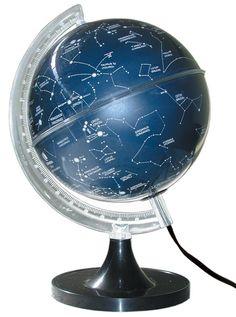 GLOBO CELESTE CIELO - 21CM - ILUMINADO - LAMPADA 110W