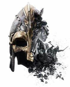 for honor viking Vikings, For Honor Viking, Viking Warrior Tattoos, Spartan Tattoo, Knight Tattoo, Norse Tattoo, Armadura Medieval, Viking Art, Viking Tattoo Design