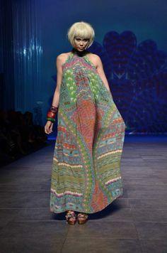 "Kaftan Queen Camilla Franks Shows her Spring/Summer 2011 ""Labyrinth"" Collection at Sydney Fashion Festival | Sassi Sam Girlie Gossip Files"