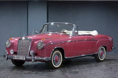 1957 Mercedes-Benz 220S Cabriolet. Chassis no. 180 030-750 3673.  Yes, please!
