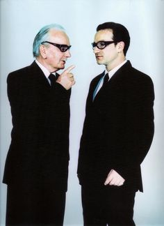 Bono and his father by Anton Corbijn