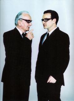 Bono and his father by Anton Corbijn