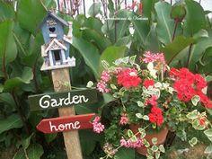 Que Amor de Casa : Casinha de Passarinho Casa Do Rock, Bird Houses, Home And Garden, Birds, Outdoor Decor, Home Decor, Small Gardens, Garden, Craft