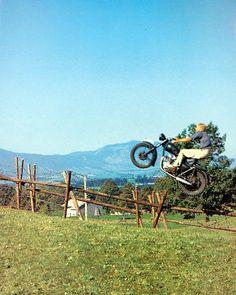 Steve Mcqueen The Great Escape Motorbike Stunt Chase Scene Iconic Poster Movie Market, The Great Escape, Steve Mcqueen, Vintage Bikes, Best Memories, Stunts, Motorbikes, Family Photos, Poster Prints