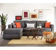 Grey Tweed Sectional Sofa White Reclining 96 Best Couch Arrangement Ideas Images Lovesac Sactional Living Slub Loveseat Modular