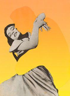 """Saatchi Online Artist Joe Webb; Assemblage / Collage, """"Absent Minded IV"""" #art"""