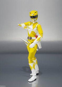 Mighty Morphin Power Rangers Yellow Ranger SH Figuarts Action Figure *PRE-ORDER* #Bandai