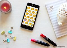 My Favorite October Phone Wallpapers | Stephanie's Daily Beauty