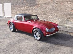 1966 Austin Healey Replica. Super nice car!! Powered by a 350 Chevy motor with a…
