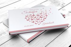 **GÄSTEBUCH MIT FRAGEN – Variante: buttefly heart** Ein Gästebuch sollte am schönsten Tag in eurem Leben nicht fehlen. Aber es muss nicht immer ein leeres Gästebuch sein und die Gäste zum...