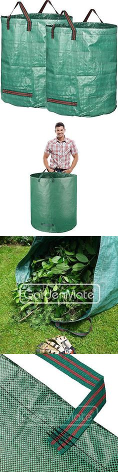 Garden Waste Bags 181024: Gardenmate 2-Pack 132 Gallons Garden Waste Bags Professional - Reusable Bag -> BUY IT NOW ONLY: $20.98 on #eBay #garden #waste #gardenmate #gallons #professional #reusable Garden Waste Bags, Bags For Sale Online, Reusable Bags, Packing, Stuff To Buy, Ebay, Bag Packaging