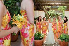 Floral Print Inspiration – Elizabeth Anne Designs: The Wedding . Bridesmaid Dresses Floral Print, Wedding Dresses, Floral Dresses, Pretty Summer Dresses, Snake Skin Dress, Trends, Floral Prints, Floral Patterns, Wedding Inspiration