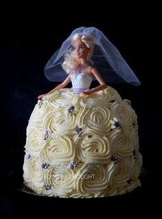 Food for thought: Τούρτα νύφη Birthday Parties, Birthday Cake, Food For Thought, Cake Decorating, Snow White, Barbie, Disney Princess, Party, Decorations