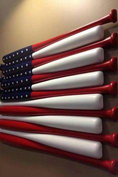 Baseball room #America Super cute baseball idea!